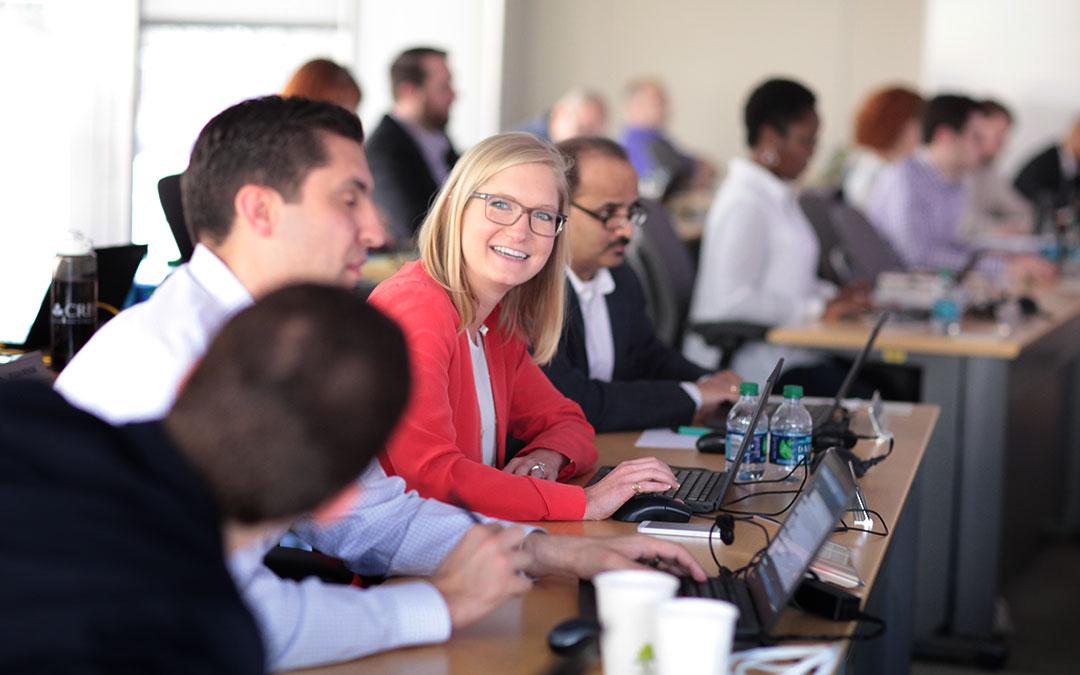 UConn Executive MBA Classroom April 2015