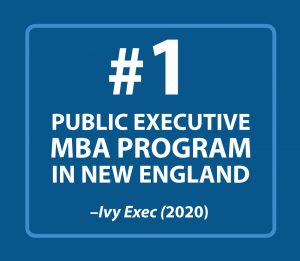 #1 Public Executive MBA Program in New England